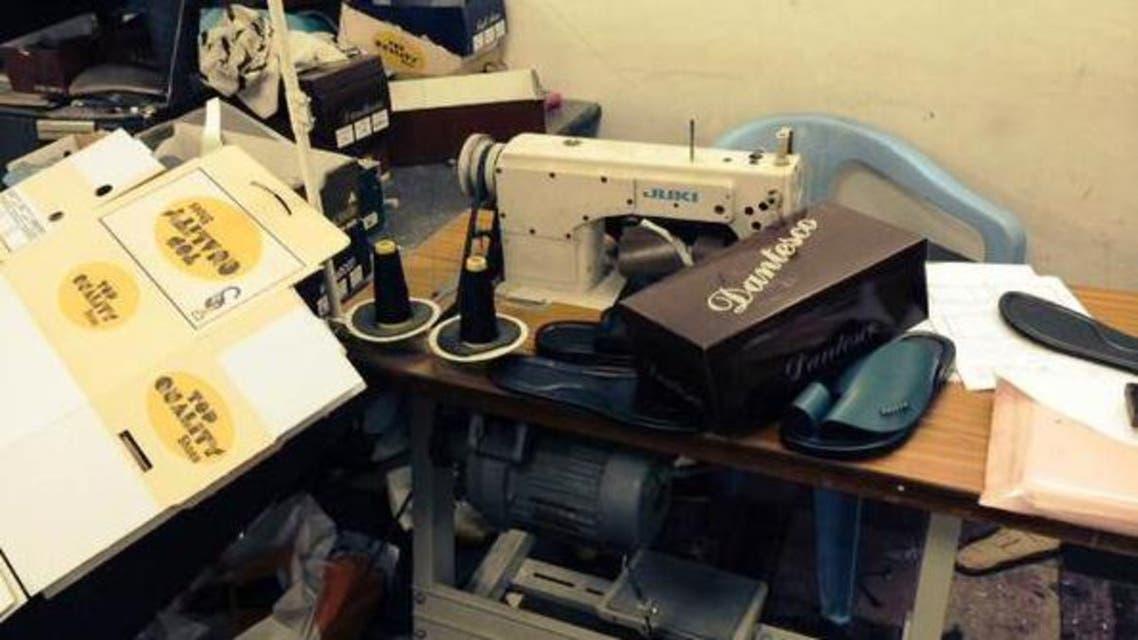 مصنع احذية