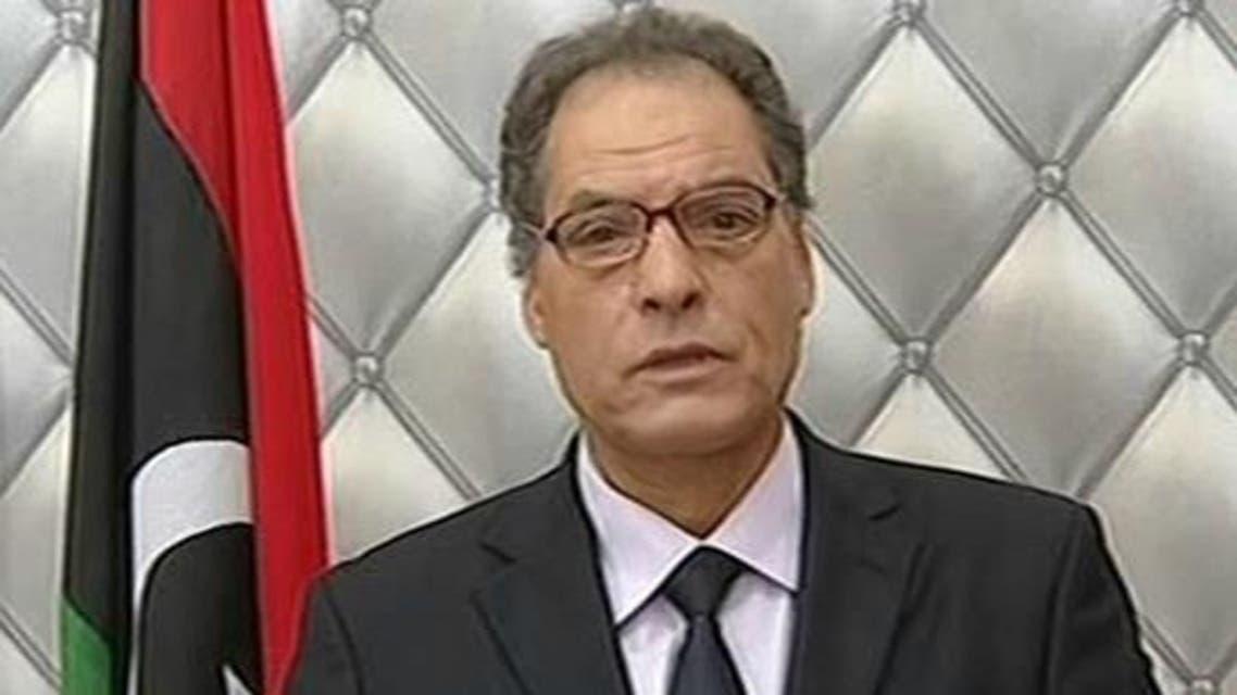 وزير الداخلية الليبي عمر السنكي