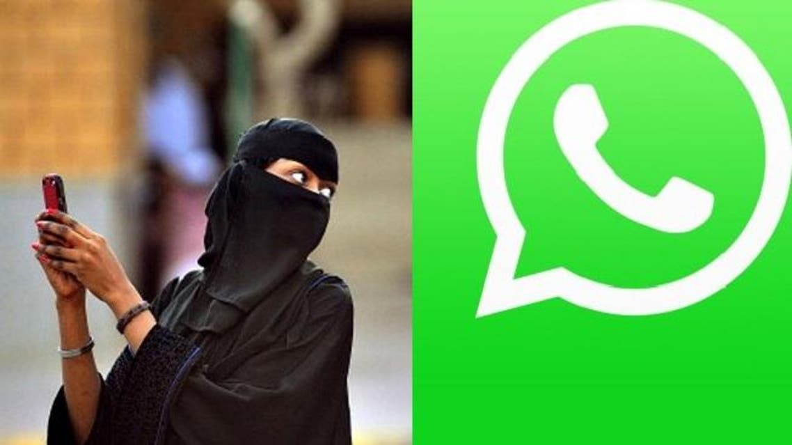 woman whatsapp
