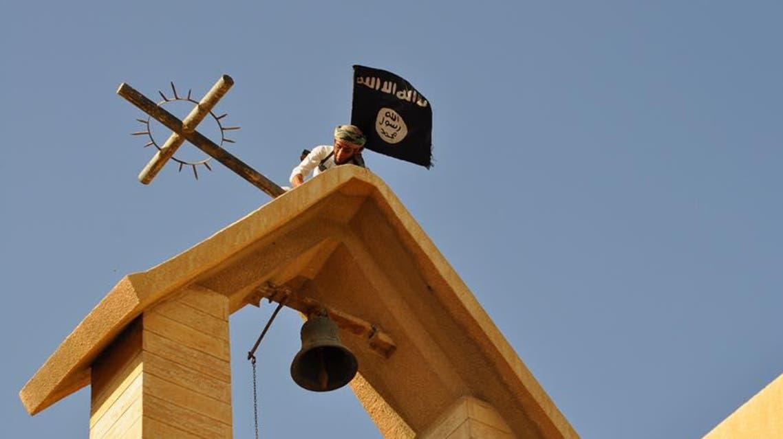 داعش يدمر المعالم المسيحية لكنيسة شمال العراق