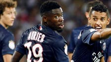 UEFA charges PSG's Aurier for insulting ref on social media