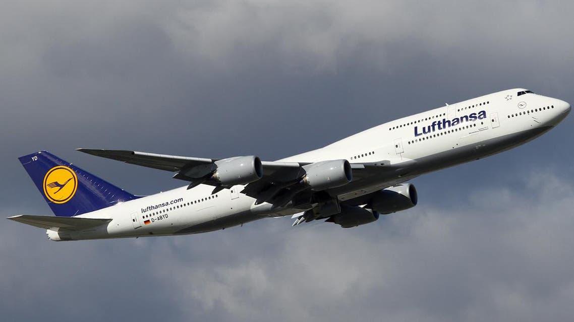 طائرة تابعة للخطوط الجوية الألمانية (لوفتهانزا)