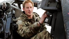 Britain's Prince Harry hangs up his army boots