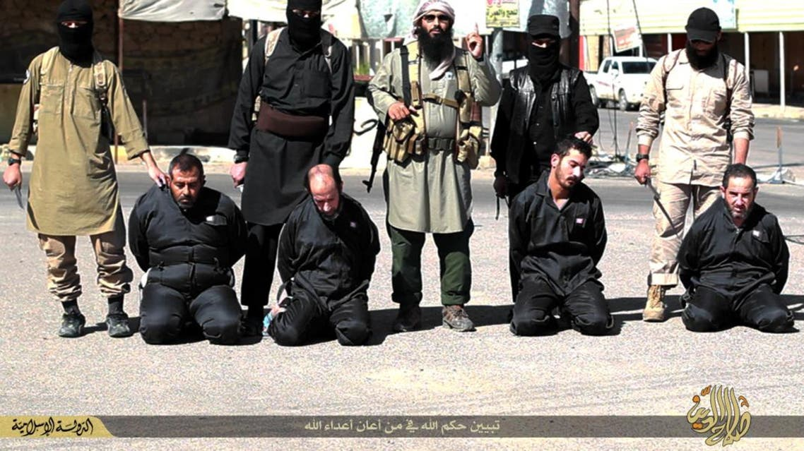 داعش يذبح 4 جندوا مقاتلين للقوات العراقية