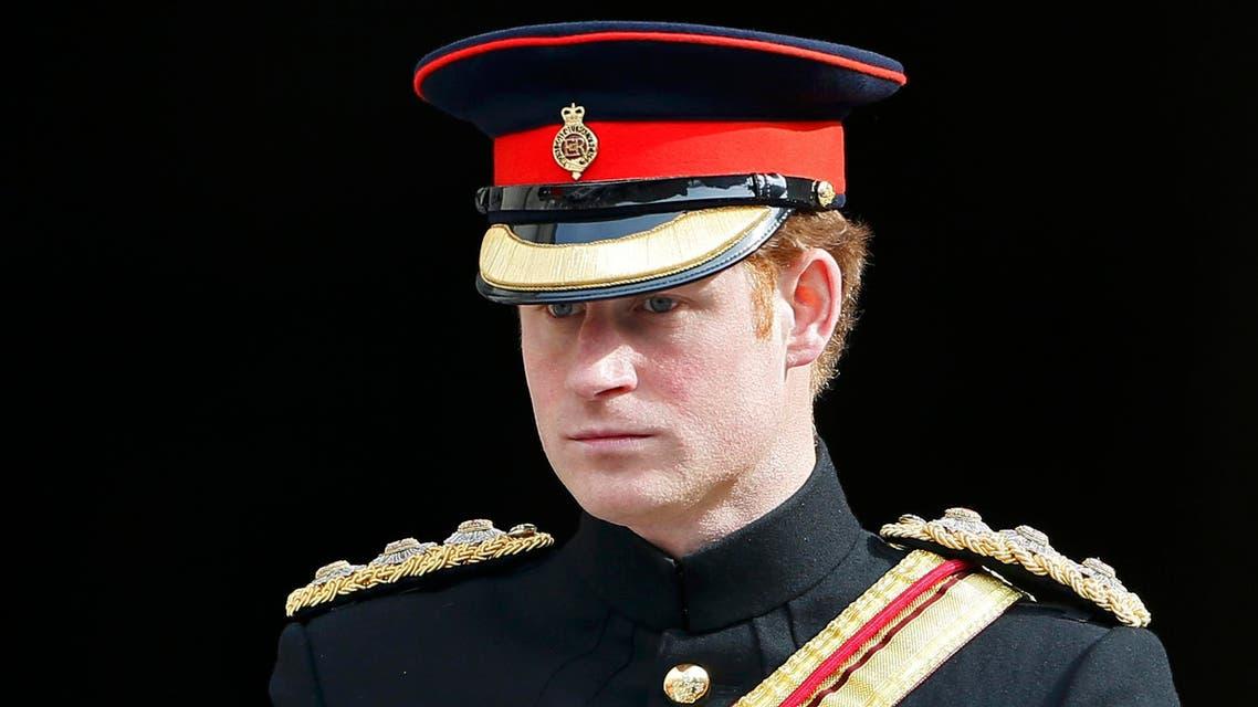 الأمير هاري في الجيش البريطاني
