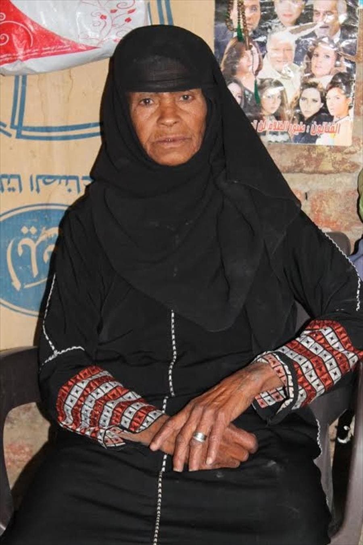 Sisa Abu Daooh dressed as man for 43 years to provide for her family. (Al Arabiya Net)