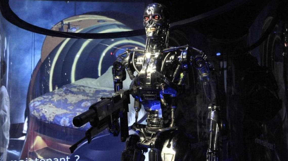 """A terrifying killer liquid metal robot from a blockbuster """"Terminator"""" science fiction film, as this one seen at a Paris museum in 2012, has inspired what was heralded here as a revolution in 3D printing. (AFP)"""