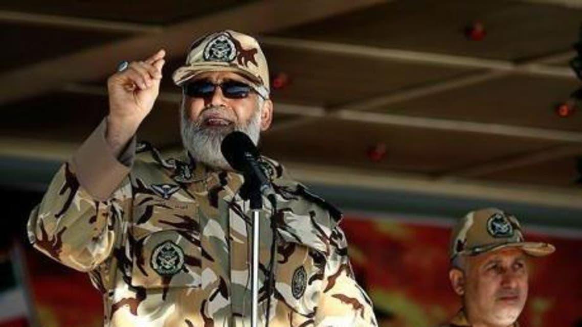 العميد أحمد رضا بور دستان قائد القوة البرية في الجيش الإيراني