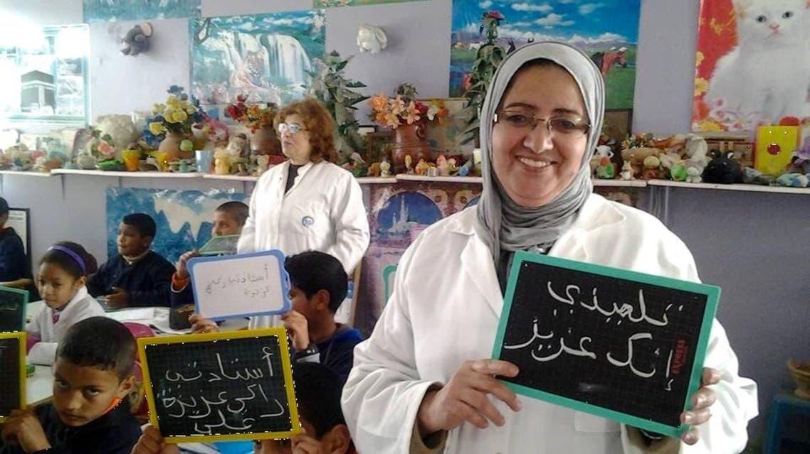مبادرة في المدرسة في المغرب لنشر ثقافة الاحترام ما بين المعلم والتلميذ