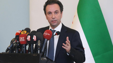 Syrian opposition chief talks future of war-torn nation with German FM