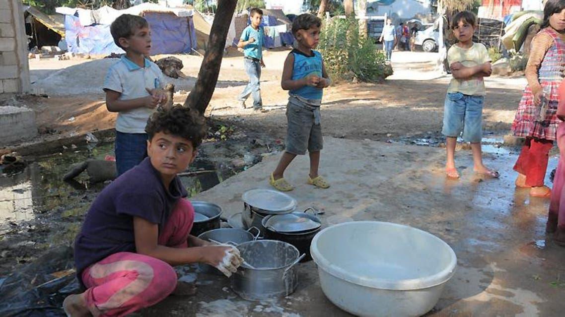 نقص المياه في درعا