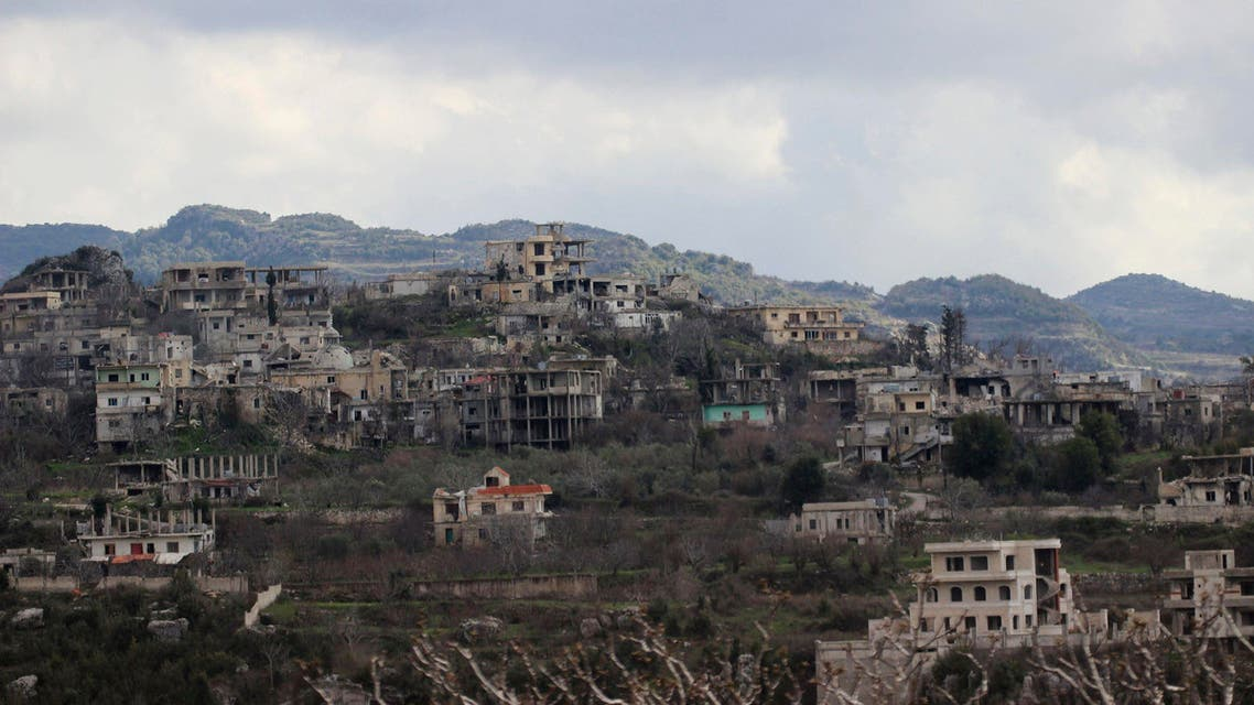 A general view shows Doreen village, which is currently under the control of the forces of Syria's President Bashar al-Assad, as seen from a rebel-held area in the Latakia countryside March 15, 2015. (Reuters)