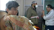 Kerry 'deeply disturbed' by Syria poison gas reports