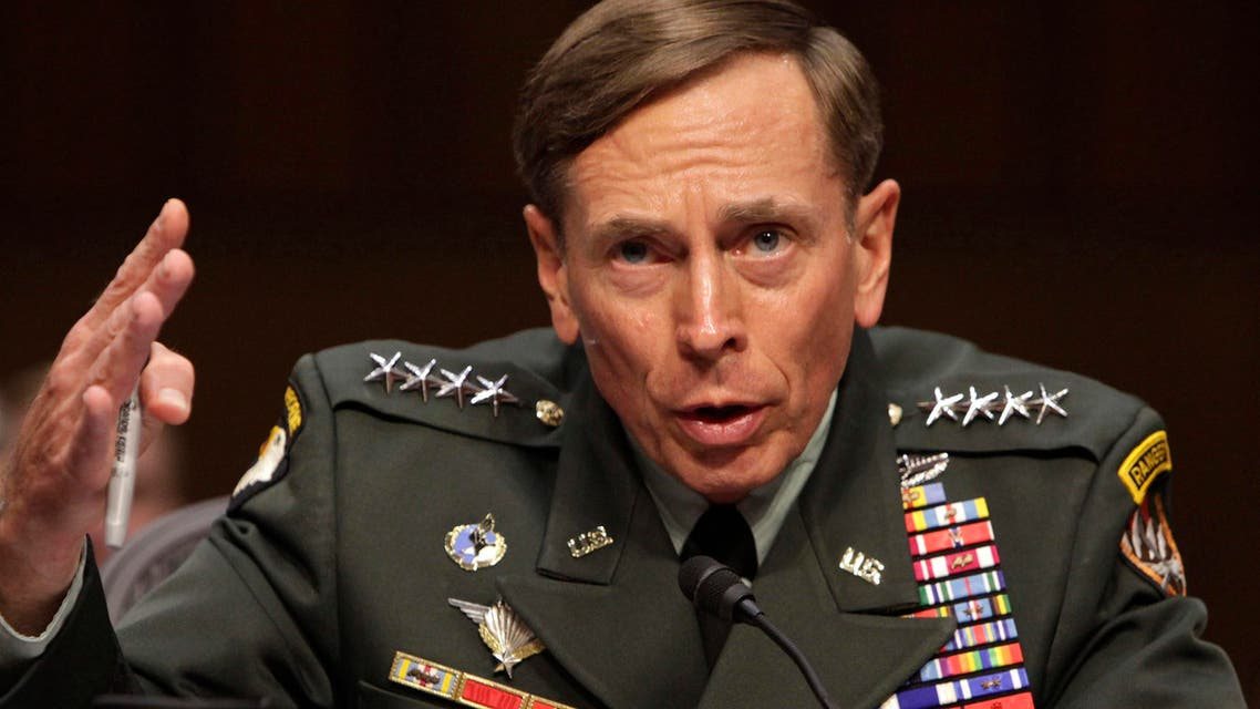 U.S. General David Petraeus gestures during the Senate Intelligence Committee hearing on his nomination to be director of the Central Intelligence Agency in Washington, in this file photo taken June 23, 2011. (Reuters)