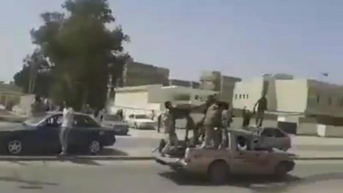 THUMBNAIL_ لقطات لتحرير  الجيش الليبي  لورشفانه و العزيزية و تقدم الجيش نحو طرابلس
