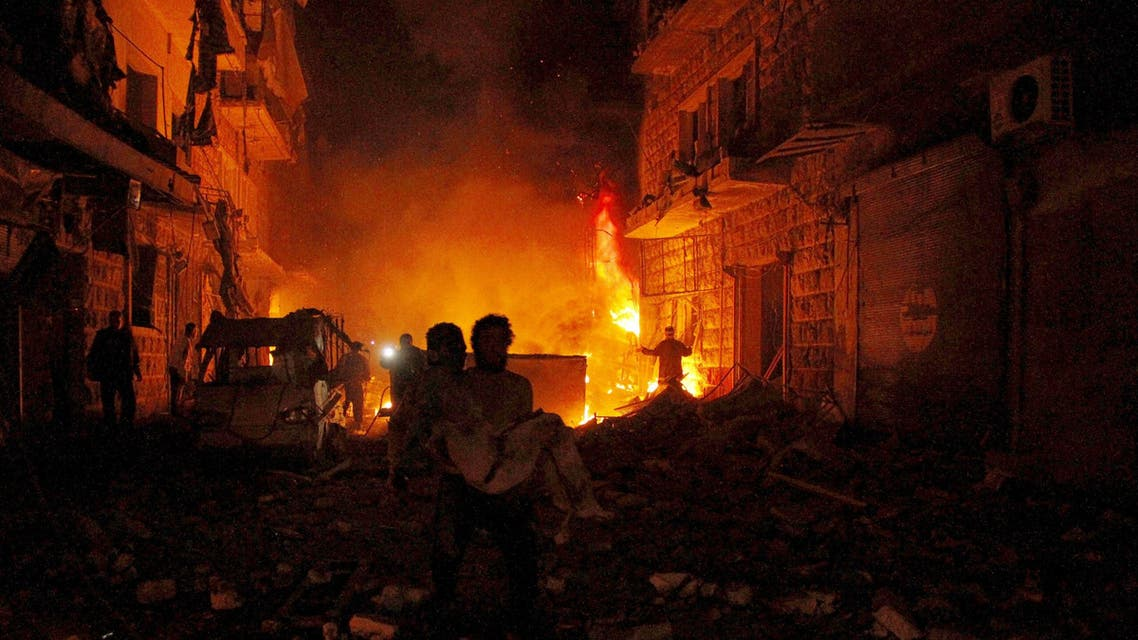 Activists also reported shelling from forces loyal to Syria's President Bashar al-Assad in Aleppo's Al-Mashad neighborhood on Friday. (Reuters)