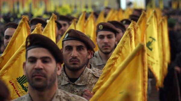 """عناصر من ميليشيا حزب الله اللبناني """"أرشيفية"""""""