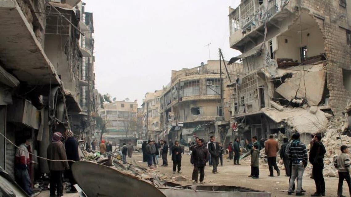 حي المشهد في حلب