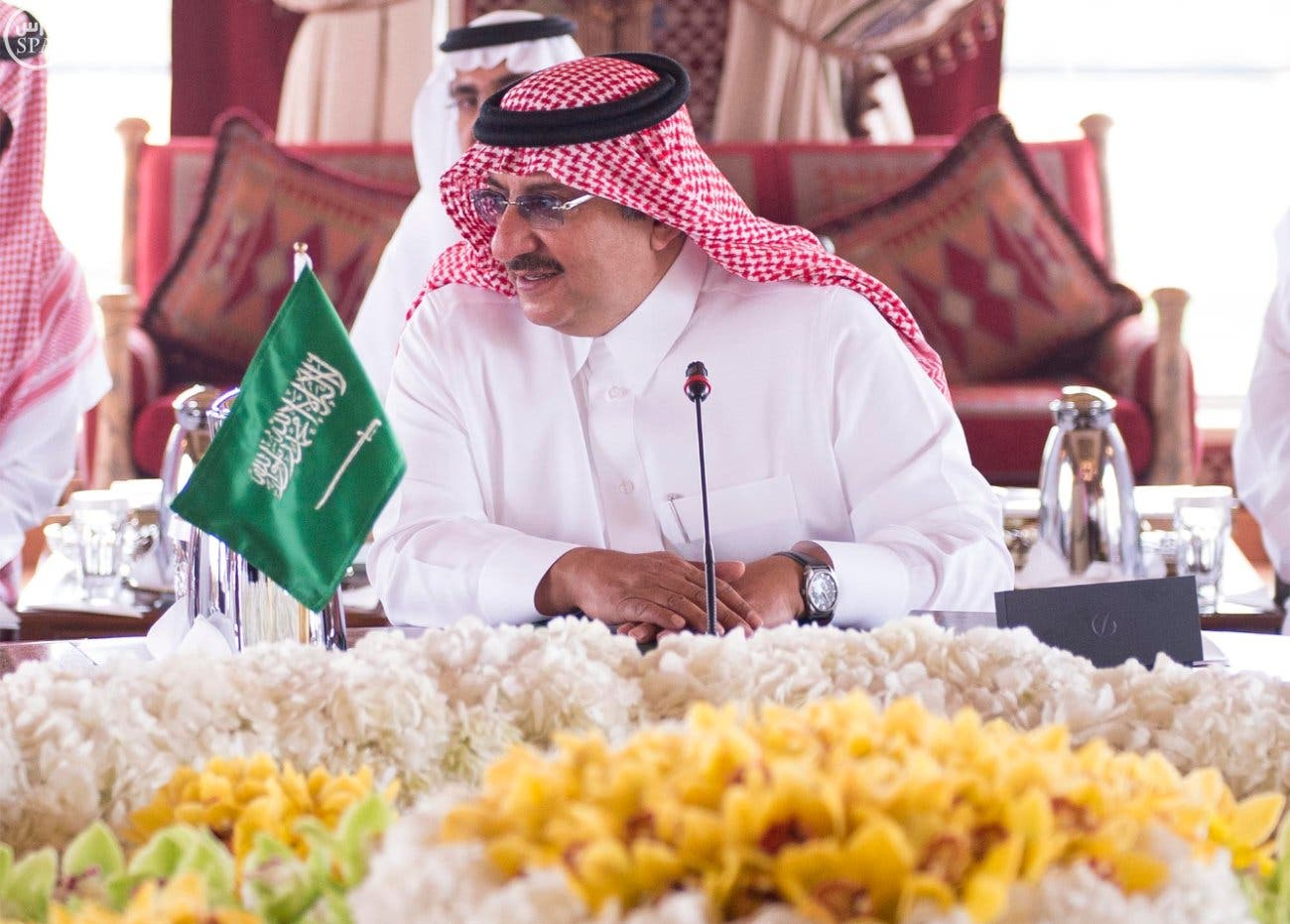 الأمير محمد بن نايف خلال الاجتماع