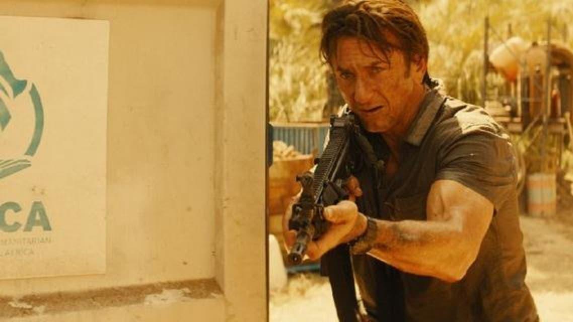 Sean Penn in his latest film 'The Gunman'. (Open Road Films)