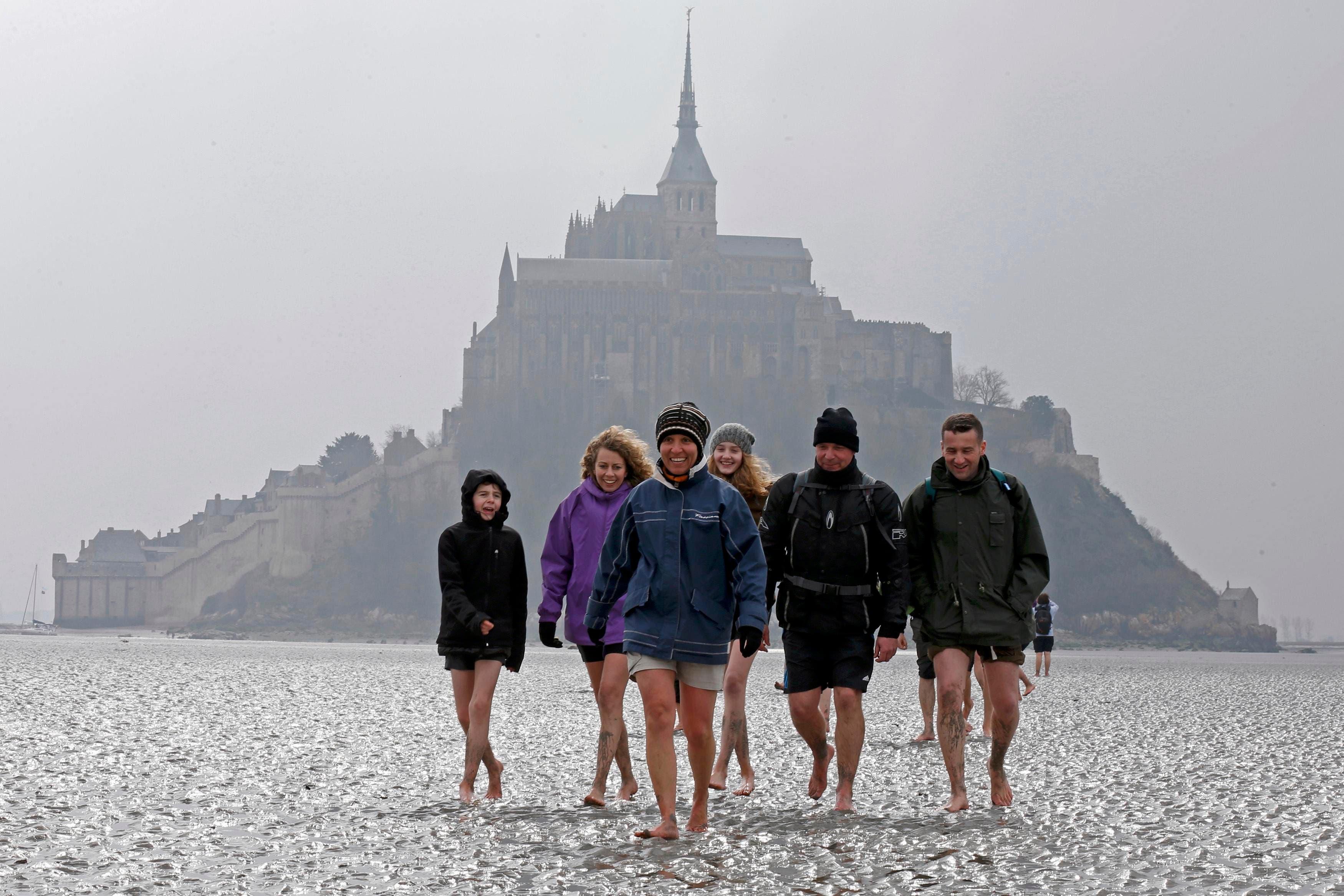 Mont Saint-Michel (Reuters)