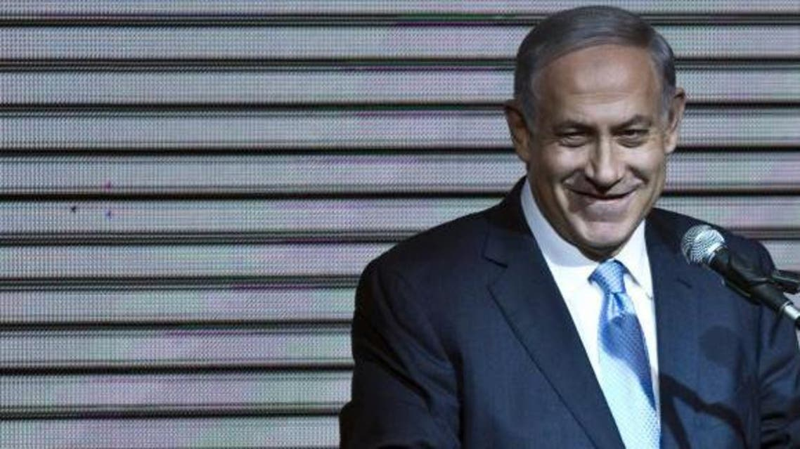 Israeli Prime Minister Benjamin Netanyahu delivers a speech to supporters at party headquarters in Tel Aviv March 18, 2015. (Reuters)