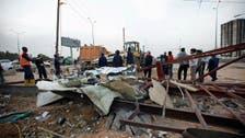Libya's army strikes on camp in Tripoli
