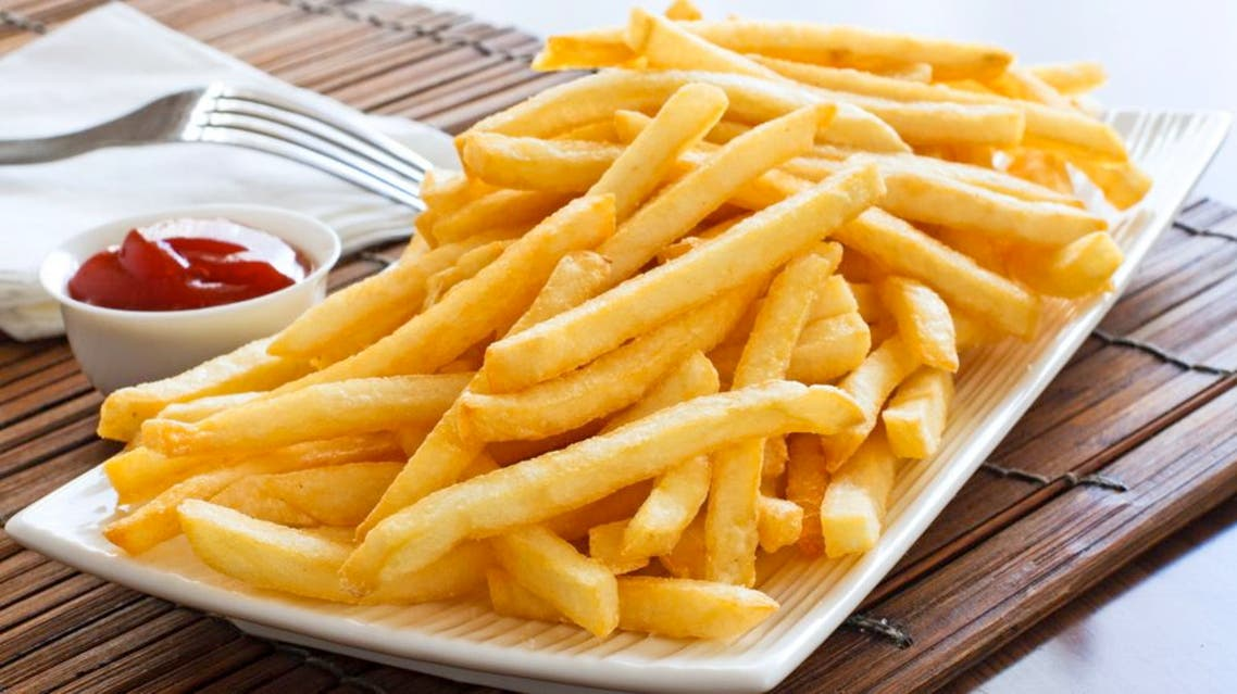 french fries بطاطا مقلية