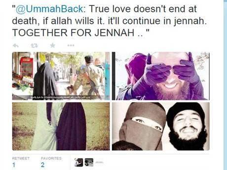 ISIS women photo courtesy: Twitter