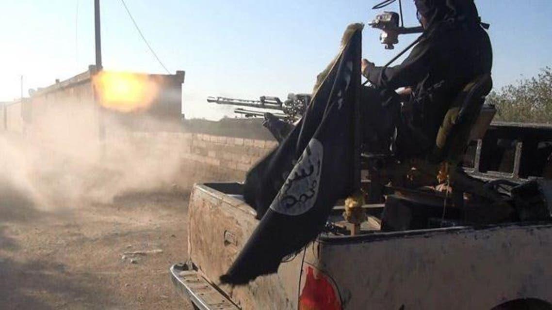حاجز داعش في الرقة
