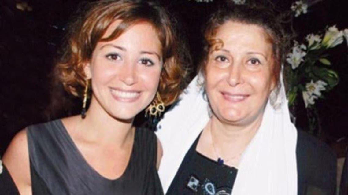 منة شلبي ووالدتها