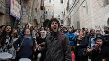 Palestinians protest planned Jerusalem evictions