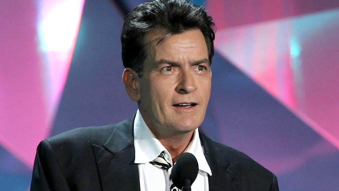 This June 3, 2012 file photo shows actor Charlie Sheen at the MTV Movie Awards in Los Angeles. (File photo: AP)
