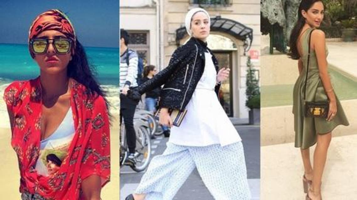 There's a new breed of style stars ruling the Arab world. From (L): Fashionistas from Egypt, Kuwait and Lebanon. (Instagram)