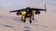 Meet Jetman, flying with jet-powered wings over Dubai