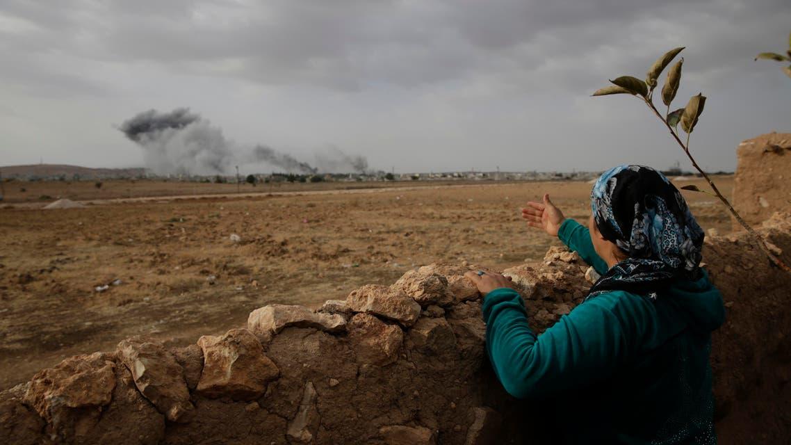 Turkey Syria ISIS AP Kurds Kobane