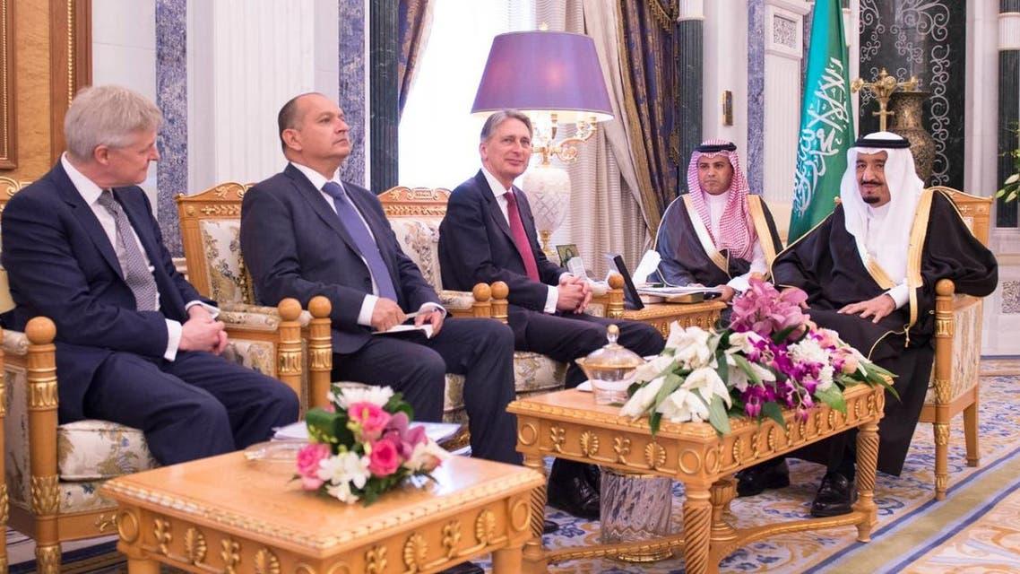 Hammond in Saudi Arabia (SPA)