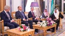 King Salman holds talks with visiting UK Foreign Secretary Hammond