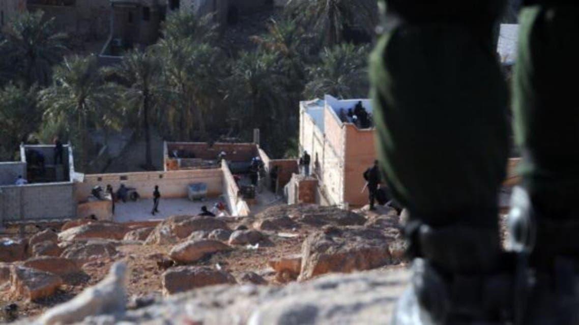 عناصر الأمن الجزائري في غردايا الجزائر