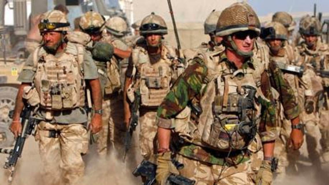 British special forces UK army armed forces Reuters