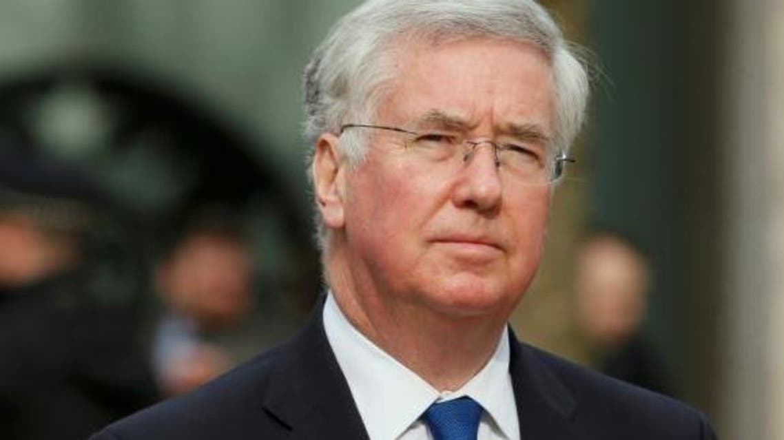 Britain's Defence Secretary Michael Fallon arrives for the Afghanistan service of commemoration at St Paul's Cathedral in London March 13, 2015. (Reuters)