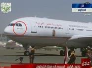 ماذا كتب السيسي على طائرته المتجهة إلى السودان؟