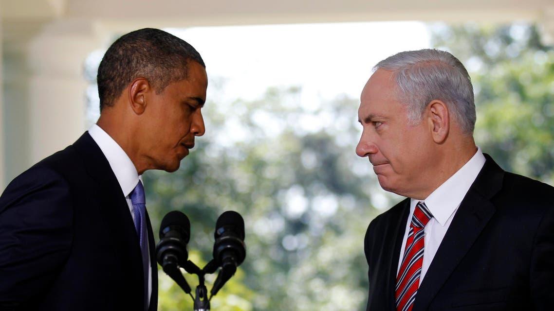Netanyahu Obama AP