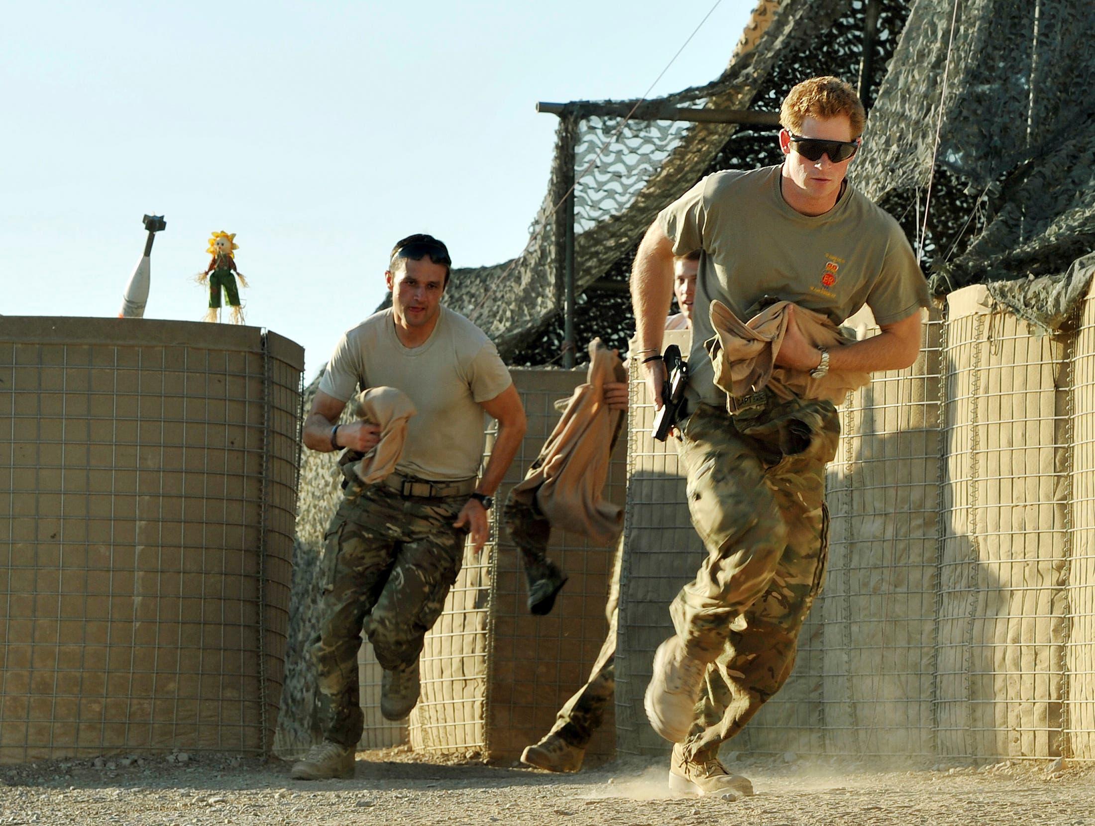 Prince Harry's army life