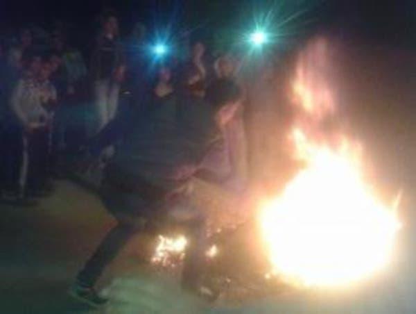 شرطة حماس تصيب 3 محتجين على انقطاع التيار بينهم حامل
