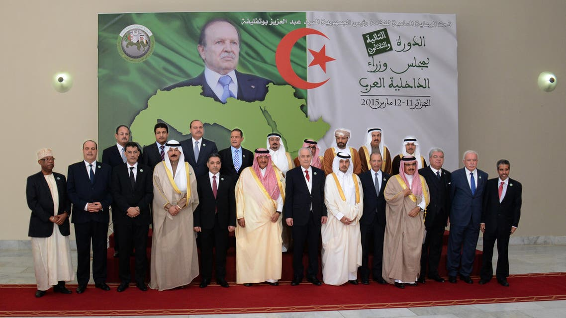 Arab leaders in Algeria (Djameleddine Boudib)