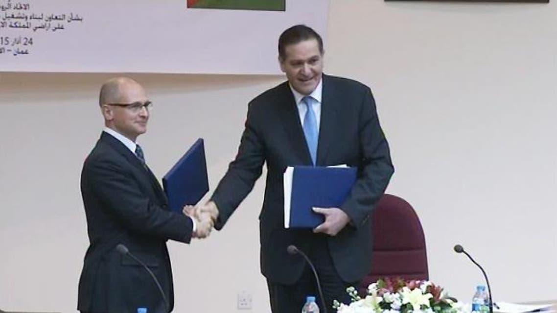 الأردن توقيع اتفاقية لبناء أول محطة نووية على أراضيه