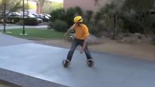 Video shows no board in 'postmodern skateboard'