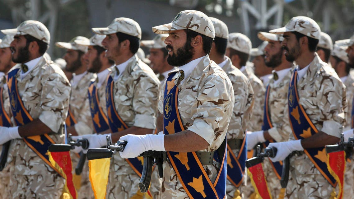 Iran's Revolutionary Guard Iran AP
