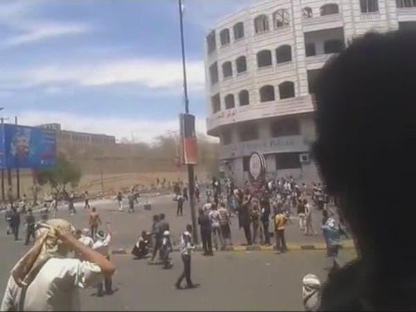 بالفيديو.. هكذا تتصرف ميليشيات الحوثي الانقلابية